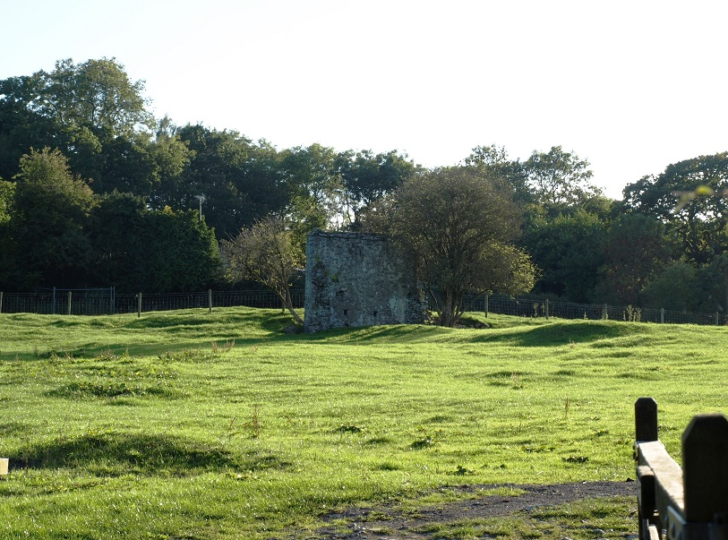 Bishop's Palace remains