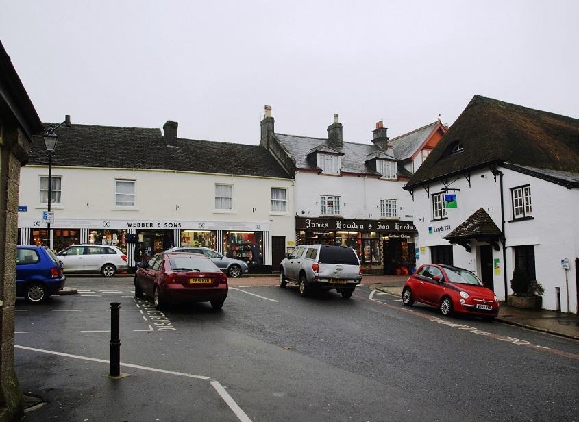 Chagford centre