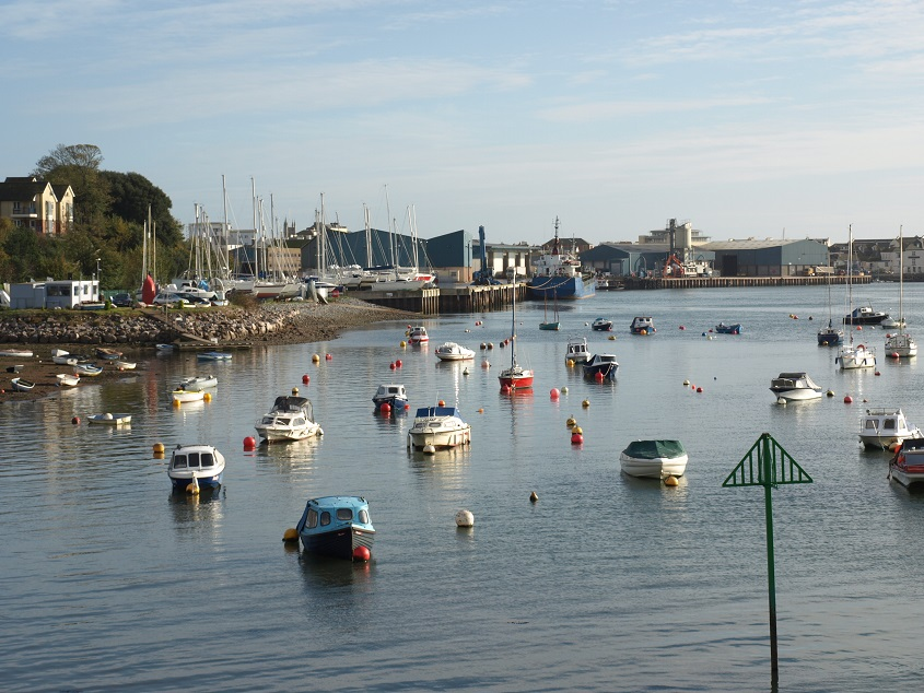 Docks from Shaldon Bridge