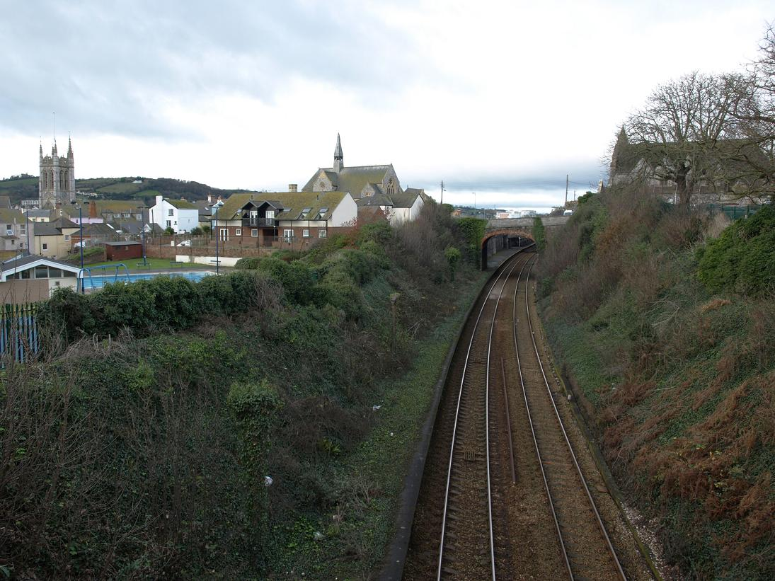 Railway from Slocum's Bridge