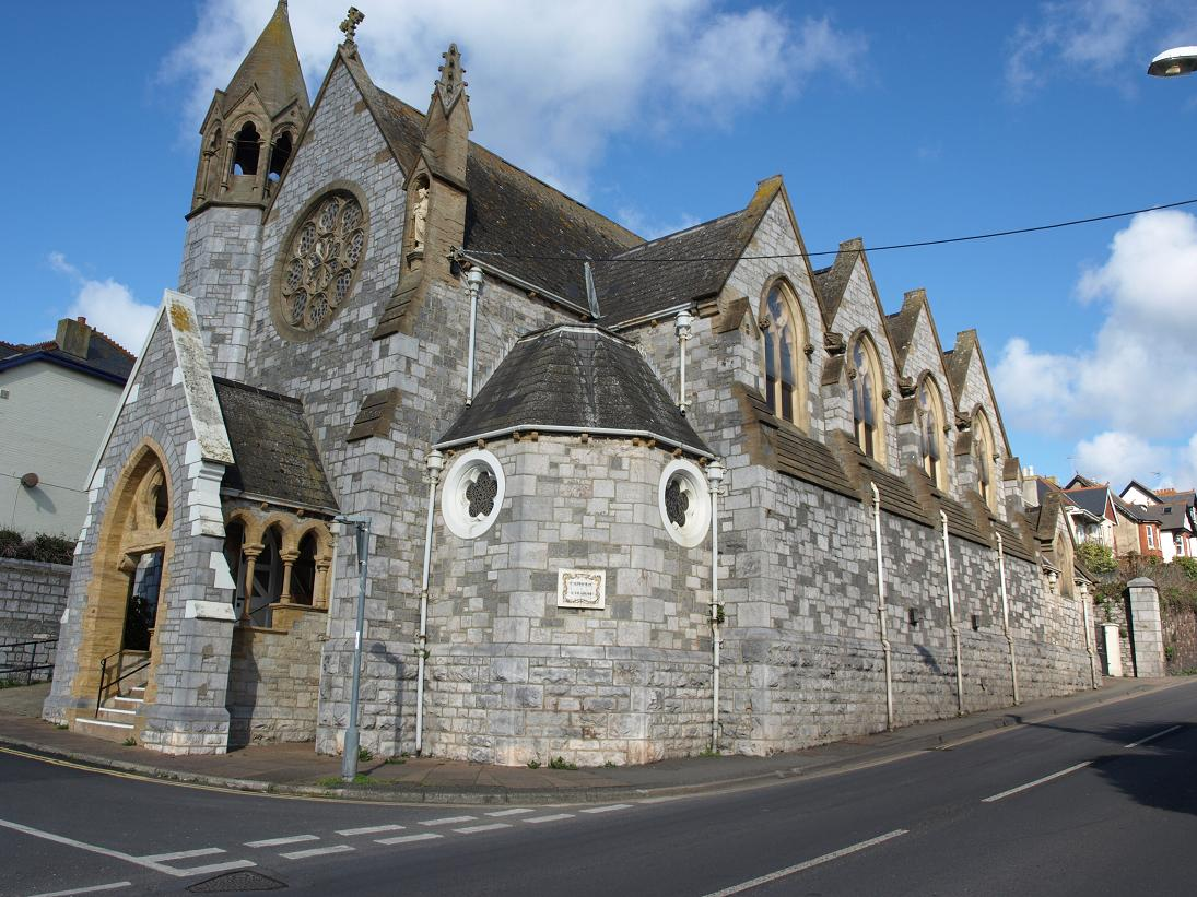 Teignmouth Catholic church