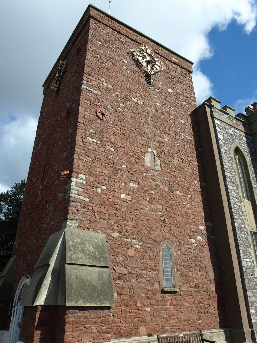 St James church tower