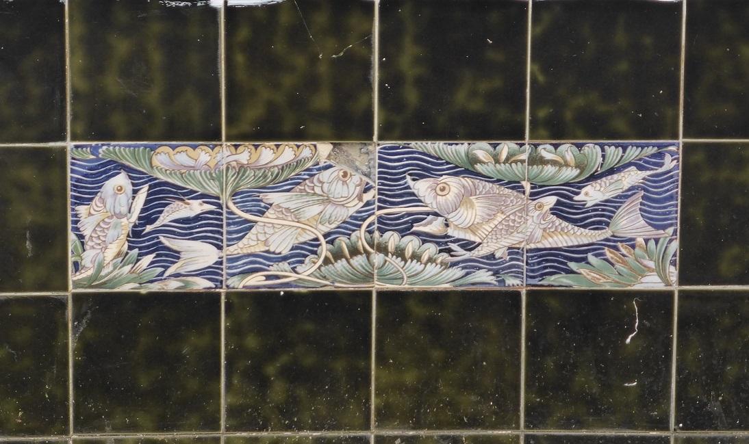 fish tiles, Teign St