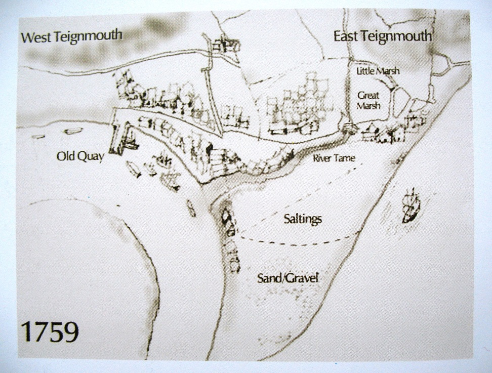 teignmouth 1759 sketch map cd
