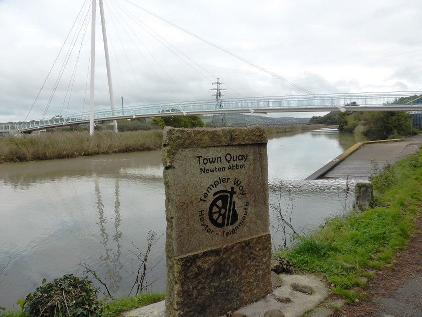 Templer Way plaque quay