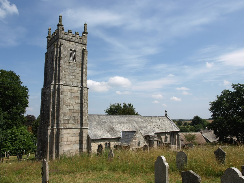 Throwleigh church