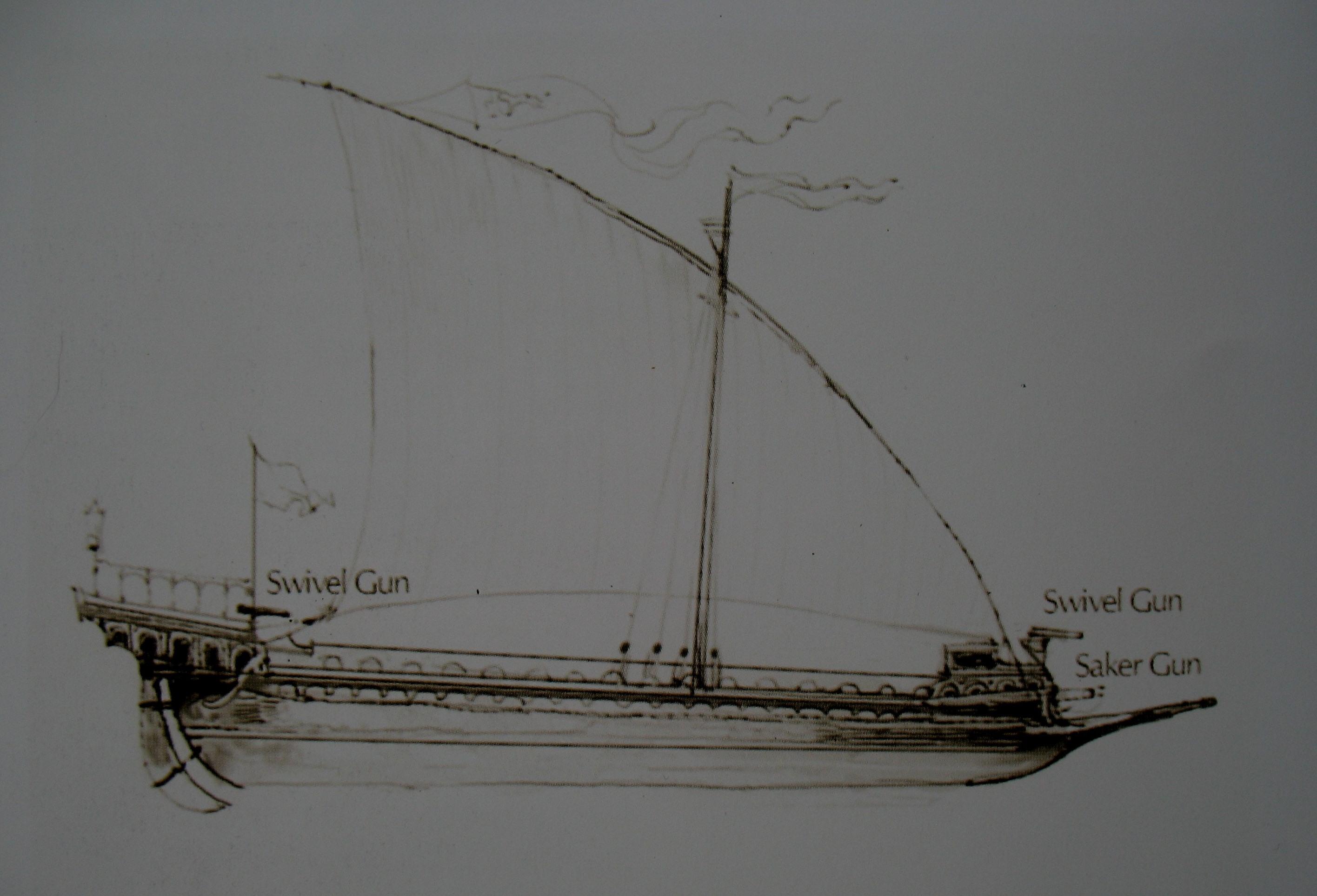 venetian galley timeteam