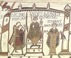 harold crowned bayeux tapestry